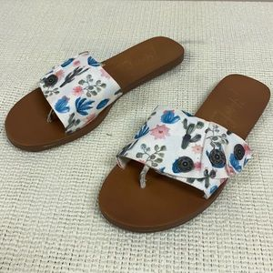 Blowfish Malibu fabric sandals